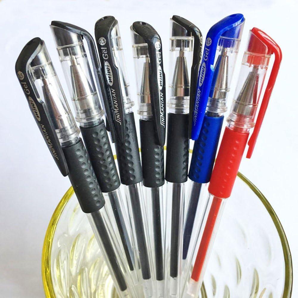 jokoca Gel Pens con 0,5 mm colores bolígrafos de tinta de gel, 10 Pack 3 varios colores juego de bolígrafos de gel para oficina y # xFF0 C; Escuela y negocio: Amazon.es: