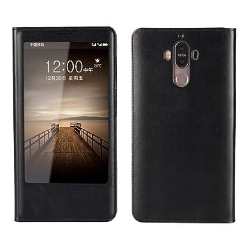 Huawei Mate 9 Funda, adorehouse Flip Carcasa Stand Función ...