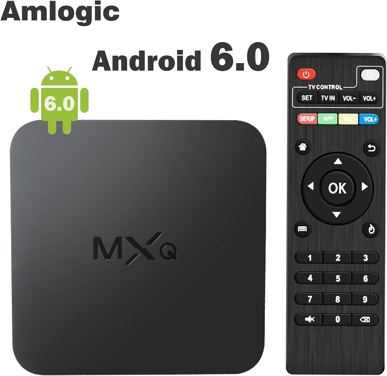 Globmall - TV Box MXQ, Android 6.0, Smart TV Box, compatible con 4 K: Amazon.es: Electrónica
