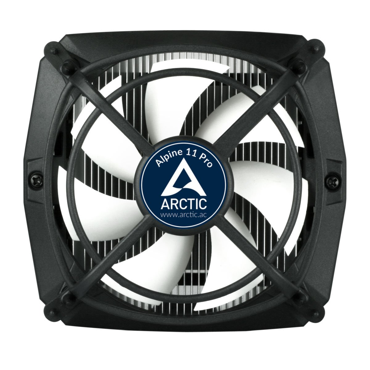 Arctic Alpine 11 Pro 95 Watts Low Noise Cpu Cooler For Intel Circuits Gt Single Transformer Inverterchargerchang L28537 Nextgr Sockets 1150 1155 1156 775 With Patented Fan Holder Anti Vibration