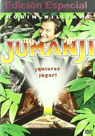 Jumanji (Edición Especial) [DVD]: Amazon.es: Bebe Neuwirthv, Robin ...