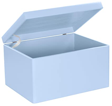 Grinscard Caja De Regalo De Madera Para Bebé Grande Pino