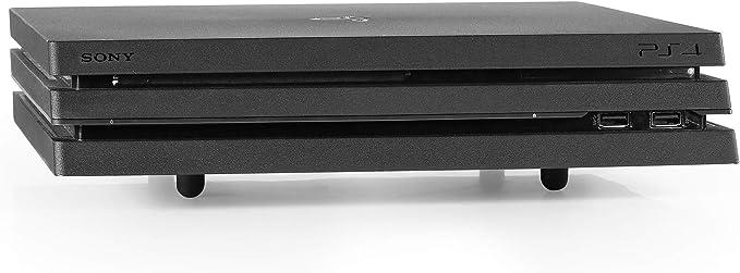 Base Consolas PlayStation y Xbox - Soporte Horizontal de Hierro para PS4, Slim y Pro, PS3, Xbox