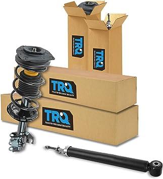 Front Rear Shock Strut Spring Driver Passenger Kit Set of 4 for Versa