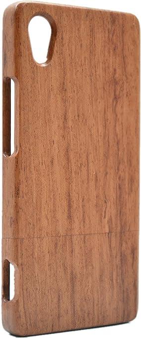 PhantomSky Sony Xperia XA1 Ultra Funda de Madera(No para XA1), [Serie de Lujo] Natural Hecha a Mano de Bambú/Madera Carcasa Case Cover para tu Smartphone: Amazon.es: Electrónica