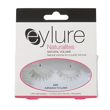6989eb2f332 Amazon.com : Elegant Touch Eylure Naturlite Natural Volume False Lashes -  Pack of 2 : Beauty