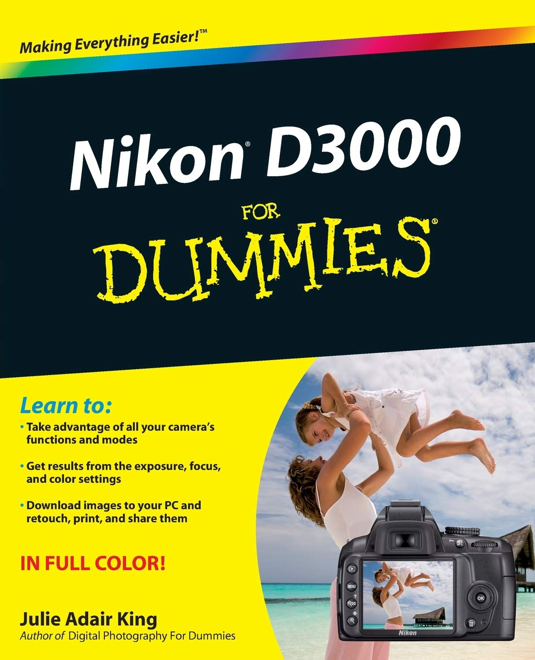 King, J: Nikon D3000 For Dummies (For Dummies Series): Amazon.es ...