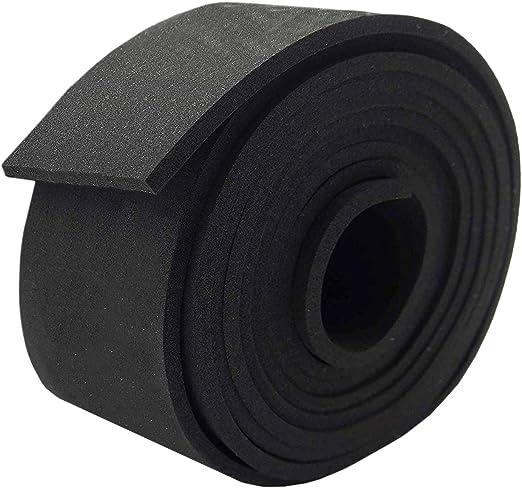"Neoprene Rubber Sheet Strip 3//8/"" Thick x 3/"" wide x 10/' feet long FREE SHIPPING"