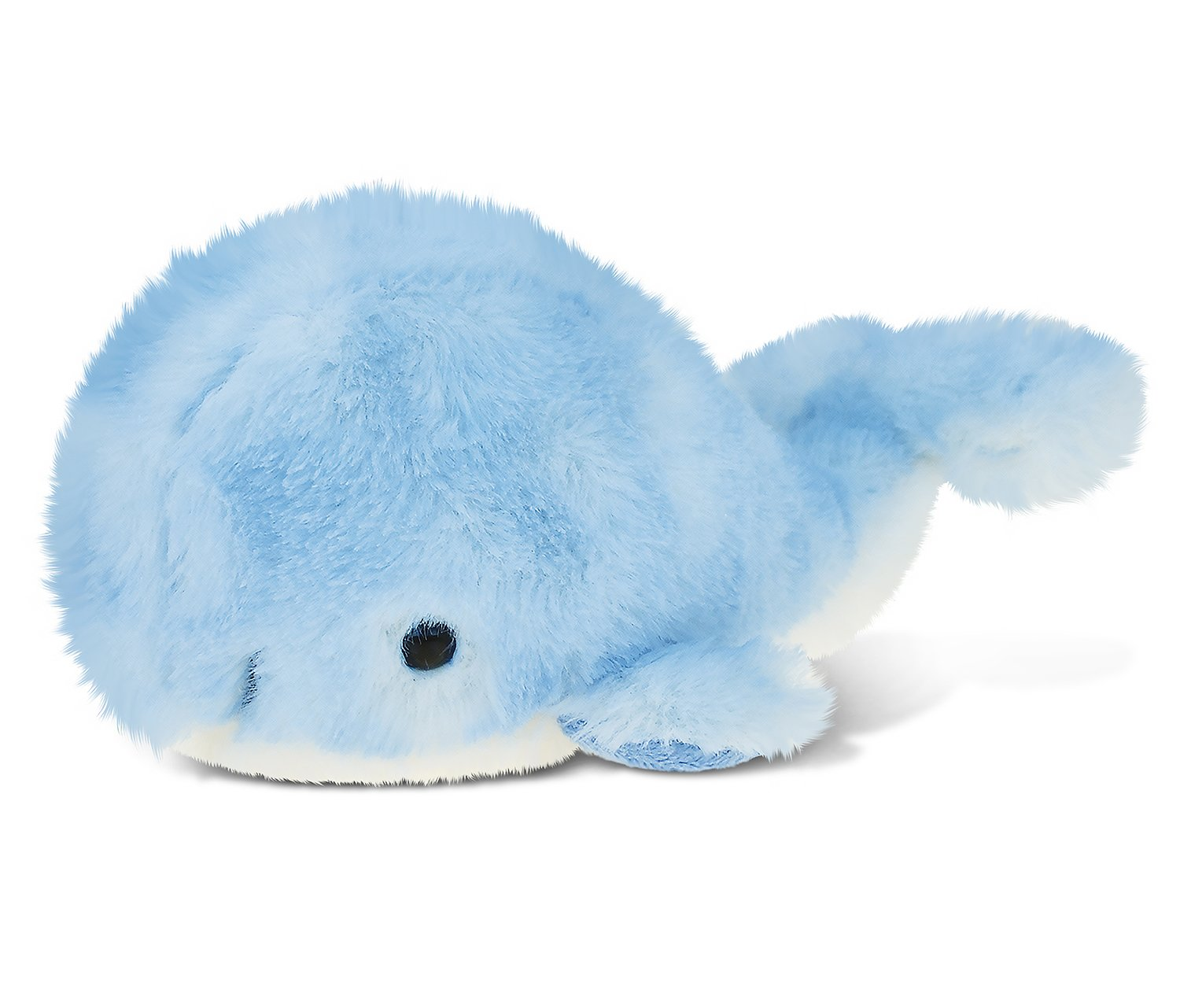 Puzzled Sky Blue Whale Plush, 7 Inch Collectible Decorative Fluffy Stuffed Animal Soft Take A Long Plushie Pillow Squishes Washable Cushy Mini Doll Ocean Sea Life Themed Kids Toddlers Toy & Games