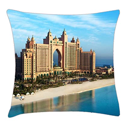 "Amazon.com: HFYZT Background Best City Free hd Mac Photos Place Views Wallpapers World Pillow Case Pillowcase Cushion Shell 18"" 18"": Home & Kitchen"