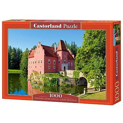Castorland - Puzzle 1000 pièces - Château Lotha Cervena, République tchèque