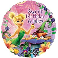 Tinkerbell Happy Birthday Folyo Balon 45cm