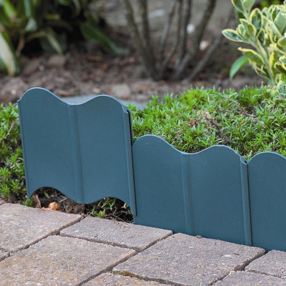 Rasenkante KST 310 cm anthrazit 20-teilig 1 Set