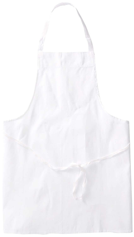 White apron amazon.ca - Amazon Com Chef Revival 600baw Poly Cotton Economy Bib Apron 34 By 34 Inch White Industrial Scientific