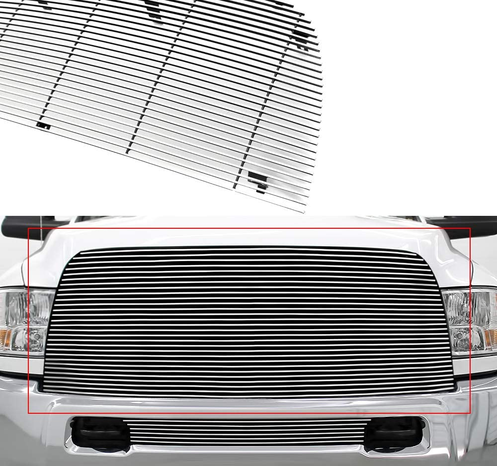APS Compatible with 2013-2018 Ram 2500 3500 Main Upper Main Upper Billet Grille Insert D86330A