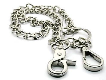 BrownBeans, estilo motero ligero acero tipo cartera cadena ...