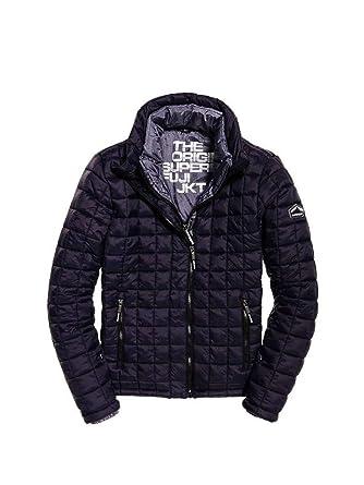 29536a6a0b4875 Superdry M50000NOF2 Down Jacket Man: Amazon.co.uk: Clothing