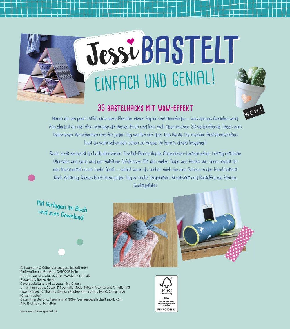 Jessi bastelt einfach & genial: 33 Bastelhacks mit Wow-Effekt ...