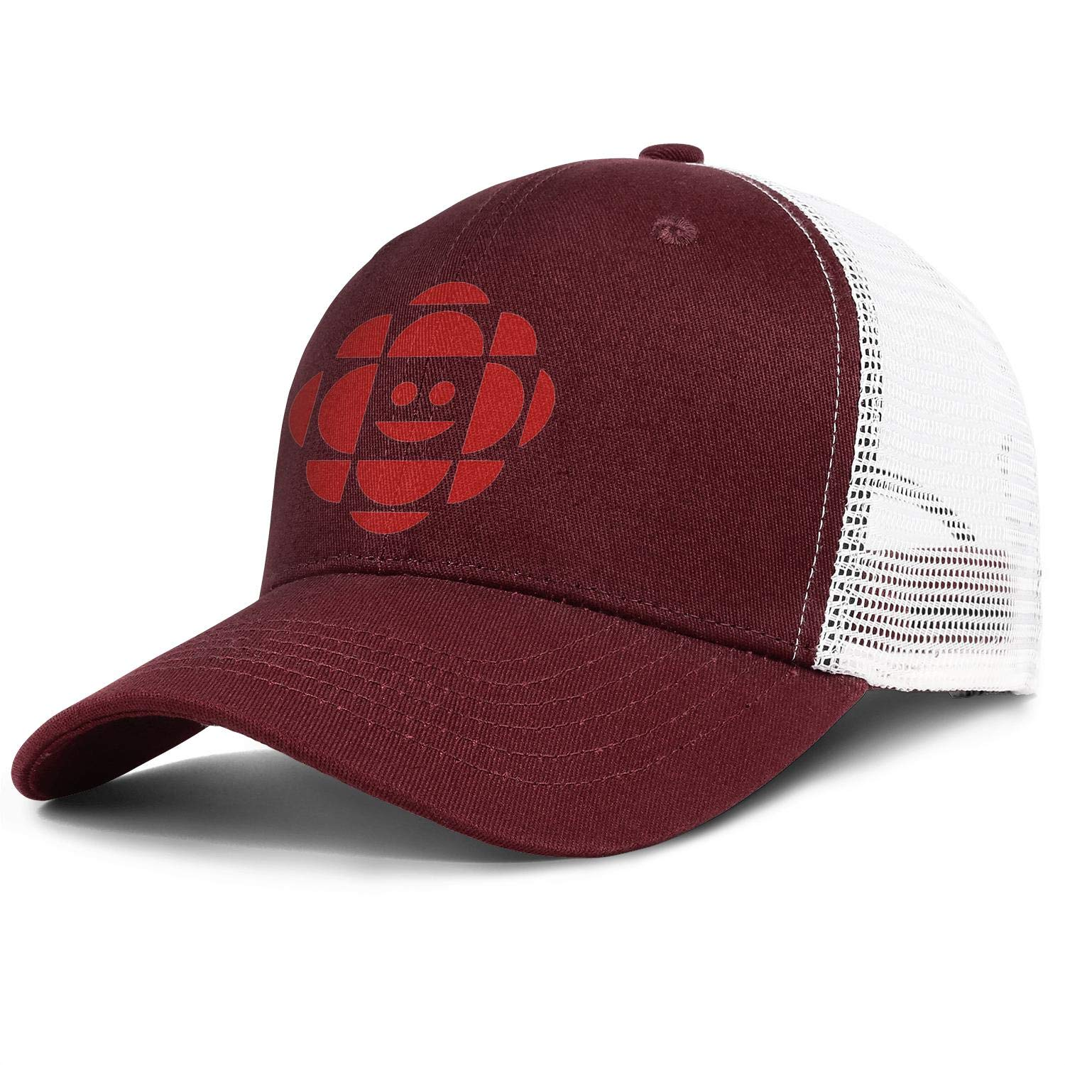 HTLYT CBC.ca Men Cotton Baseball Cap Six Panel Fitted Snapback Hat Suitable with Outside