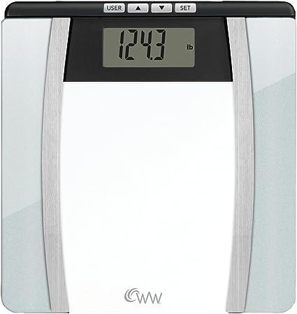 Amazon.com: Báscula de baño de cristal Conair Body Analysis ...