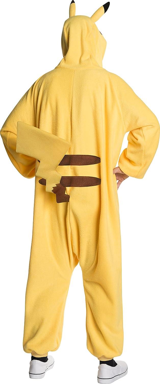 Amazon.com: Rubies Costume Co - Pokemon: Pikachu Jumpsuit ...