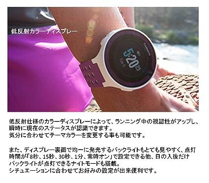 213b552af8 Amazon | GARMIN(ガーミン) ランニングウォッチ 時計 GPS ForeAthlete 220J ブラック/レッド  Bluetooth対応 【日本正規品】 114764 | GARMIN(ガーミン) | ランニング ...