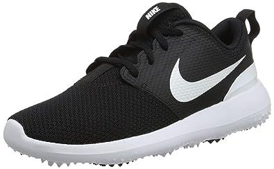 sale retailer 68a96 c4bd8 Nike Roshe G, Scarpe da Golf Donna, Nero (Negro 002), 36.5