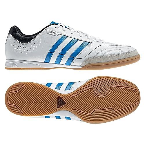 adidas 11 Nova en Hombre Modelo 2012/13 - Zapatillas de Fútbol Sala, Color Blanco, Talla 45 1/3 EU: Amazon.es: Zapatos y complementos