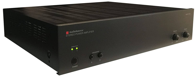 Audiosource Amp100vs 2 Channel Analog Power Amp 50 Watts Per Watt Amplifier Retail Packaging Audio Source