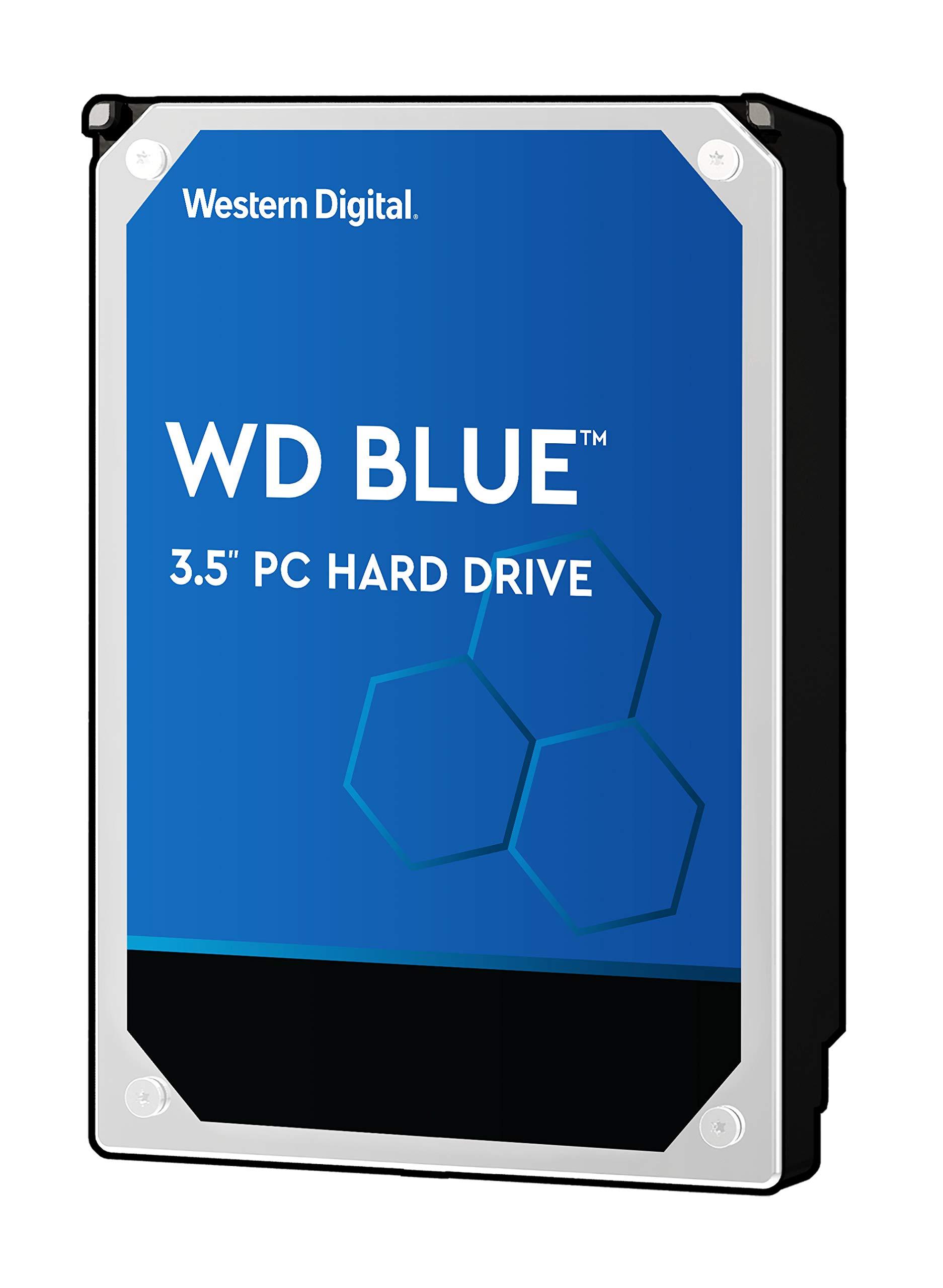 WD Blue 1TB PC Hard Drive - 7200 RPM Class, SATA 6 Gb/s, 64 MB Cache, 3.5'' - WD10EZEX