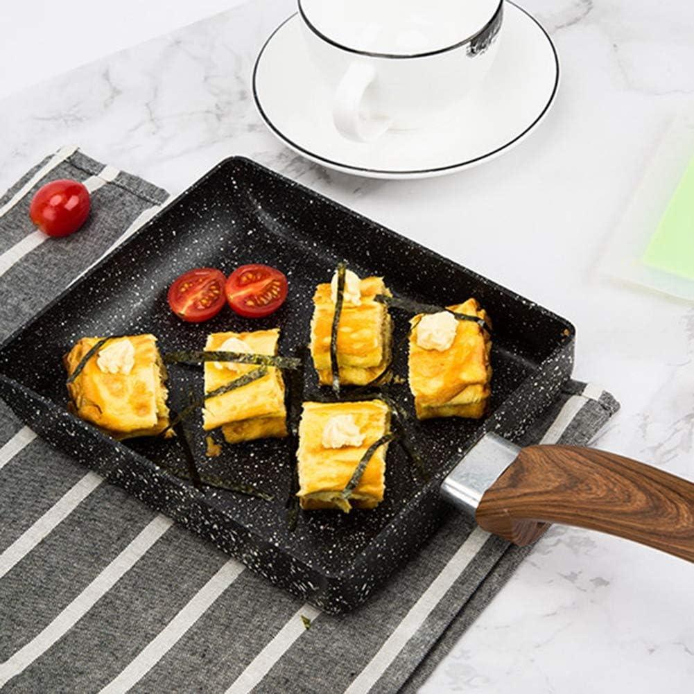 13 x 18 cm Tamagoyaki Po/êle /à omelette professionnelle anti-adh/ésive pour la cuisine