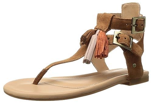 8a76481641 UGG - Sandalias de Vestir de Piel para Mujer marrón marrón