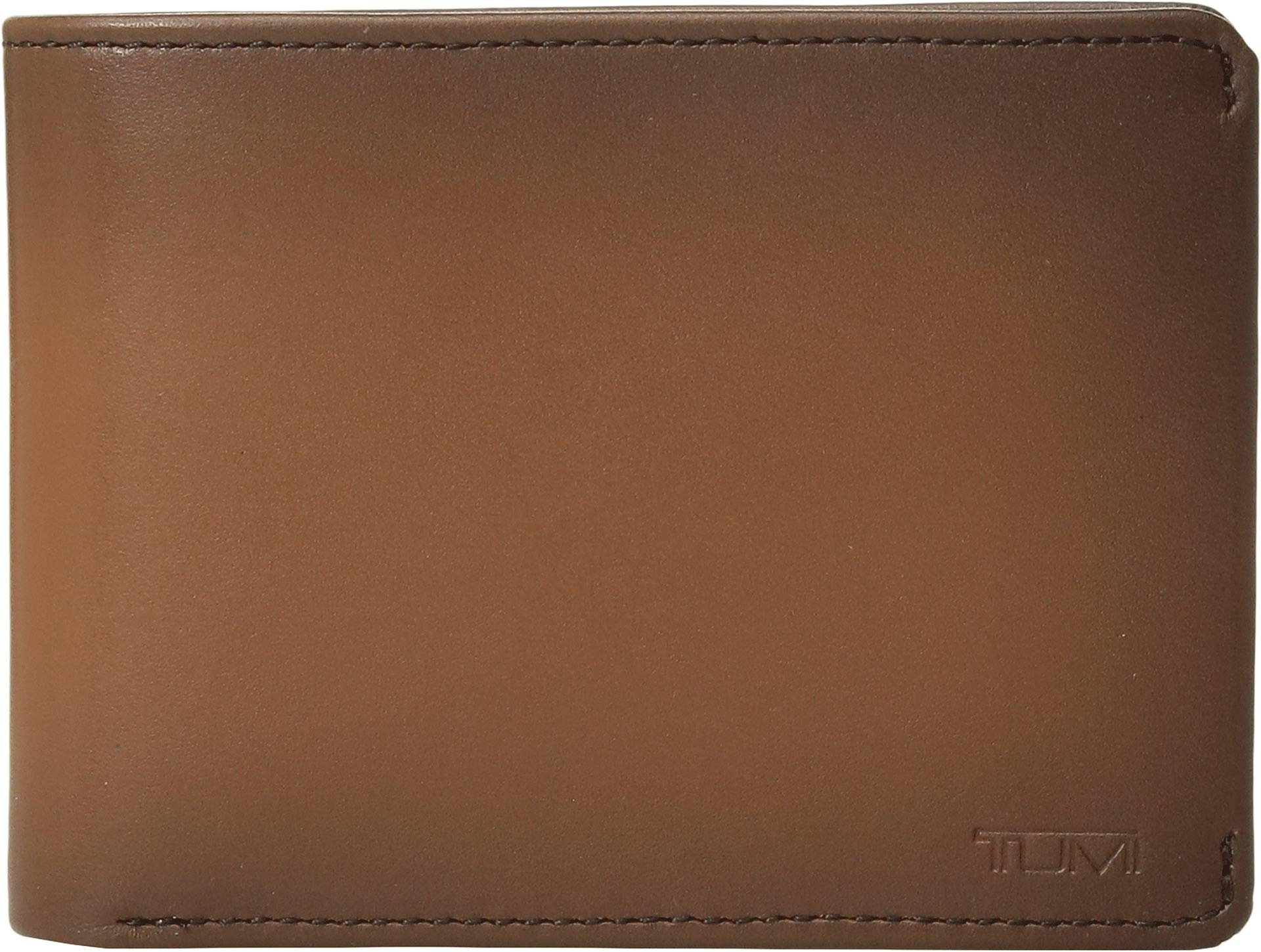 TUMI - Nassau Double Billfold Wallet with RFID ID Lock for Men - Whiskey Burnished