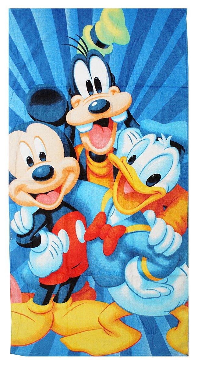 Get Wivvit Niños Disney Mickey Mouse Goofy Pirata Toalla Playa Baño Piscina Algodón 140cm x 70cm - Mickey Goofy, Mickey Goofy: Amazon.es: Hogar