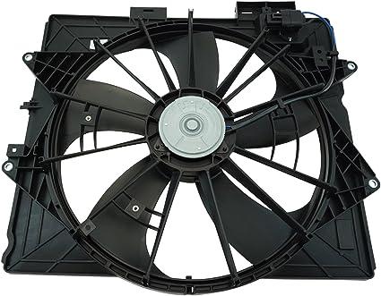 Asamblea Motor Radiador Ventilador de refrigeración para Cadillac ...