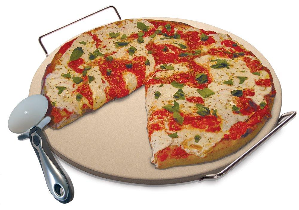 Amazon Laroma Pizza Baking Stone Set 15 Inch Includes