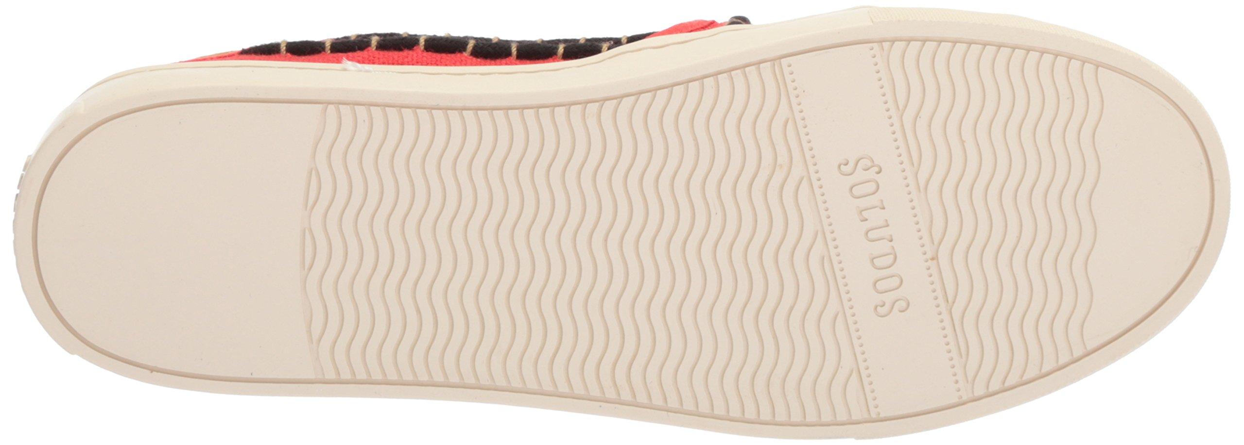 Soludos Women's Tassel Slip Sneaker, Red/Beige, 8 B US by Soludos (Image #3)