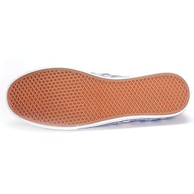 45ffaedd91 Vans Authentic Lo Pro (Blurred Floral Poseidon) Womens Shoes (9 Men s 10.5