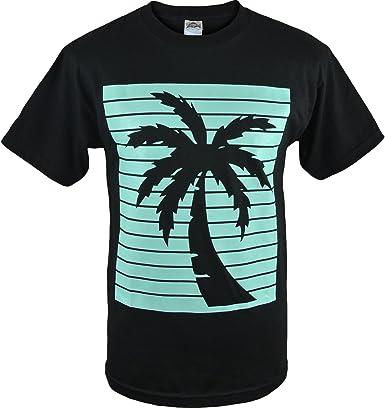 ShirtBANC Palmera Sombra Camisas California Mellow