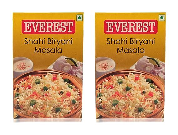 9f343c0e8af4 Everest Shahi Biryani Masala - 50 grams (Pack of 2)  Amazon.in ...