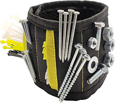Strap Nails Bolts Tool Screws Magnetic Wristband Small Metal Object Holder