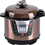 Aobosi 3Qt 8-in-1Multi-functional Electric Pressure Cooker,Slow Cooker,Rice Cooker,Yogurt Maker,Warmer,Free Steamer Rack, Cookbook and Extra Sealing Ring |Non-stick Cooking Pot