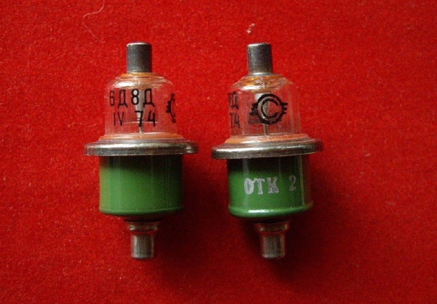 /& R Tools Tube lamp 6D8D USSR 2 pcs S.U.R
