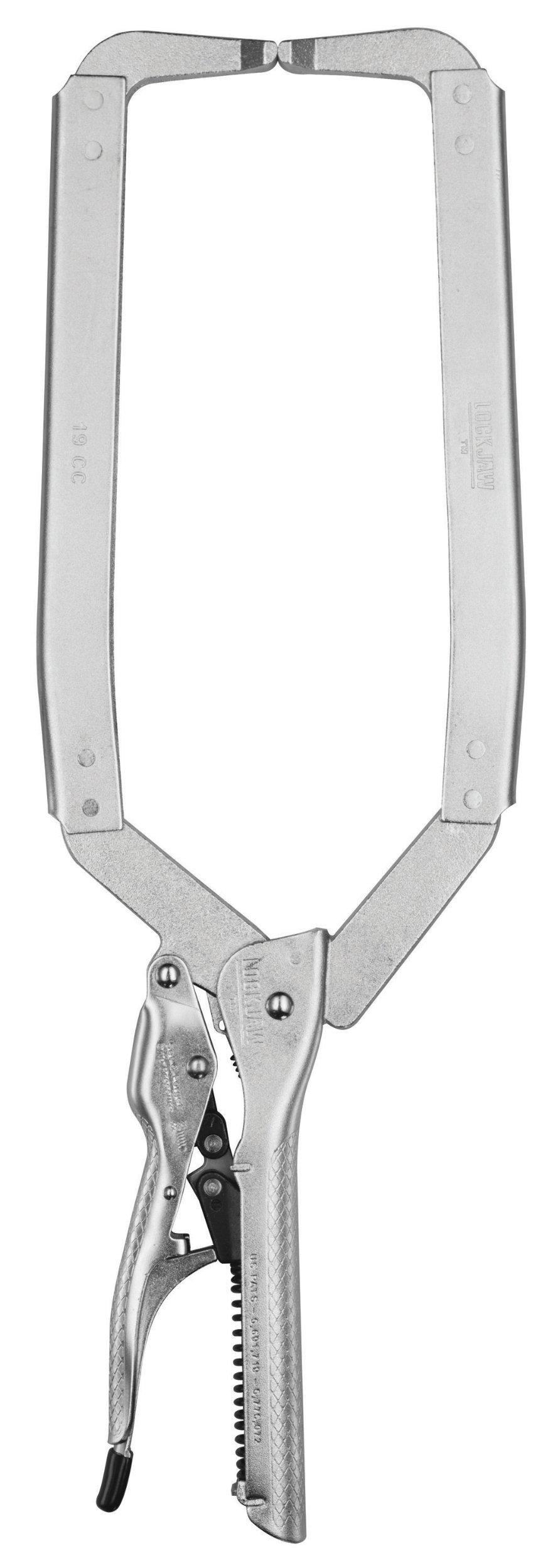 CH Hanson 18200 19-Inch Self-Adjusting Locking Long Reach C-Clamp by C.H. Hanson