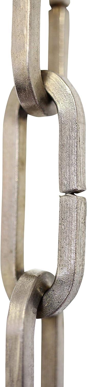 RCH Hardware CH-I-49M-AB-3 Iron Chandelier Chain Antique Brass 3 Feet