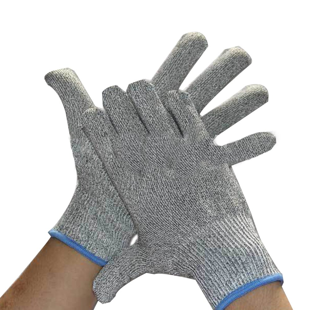 Anti-cutting Cut Slice Resistant HPPE Gloves Hands Protection Knives Level 5 V
