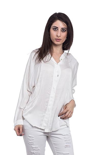 Abbino A043 Blusa Top para Mujer 5 Colores - Verano Otoño Invierno Mujeres Femeninas Elegantes Formales Camisa Manga Larga Casual Vintage Fiesta Fashion ...