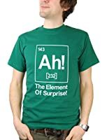 Balcony Shirts 'The Element Of Surprise' Mens T Shirt