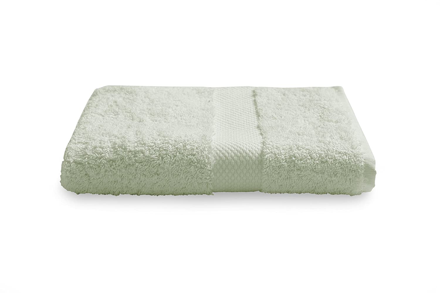 BALTIC LINEN COMPANY Luxury Single Ply 100-Percent Turkish Cotton Hand Towel Sage 0351635150 16 by 30-Inch
