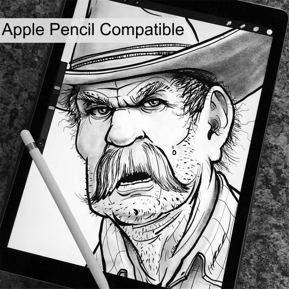 ZEBLUN Verre Trempé iPad 2017/2018 - Film Protection Ecran iPad Air 2/1, iPad Pro 9.7, Glass Renforcé (x3), Screen Protector pour Nouveau Apple iPad 9.7 Pouces, Protecteur d\'Écran, Dureté 9H, Ultra Résistant 0.26 mm, Affichage Retina